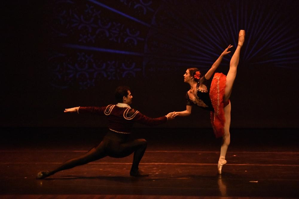 Alejandra Acosta y Sergio Acosta-Pas de deux Don Quijote